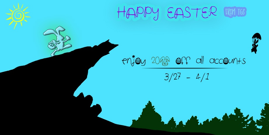 Happy Easter! ENJOY 20% OFF NOW!