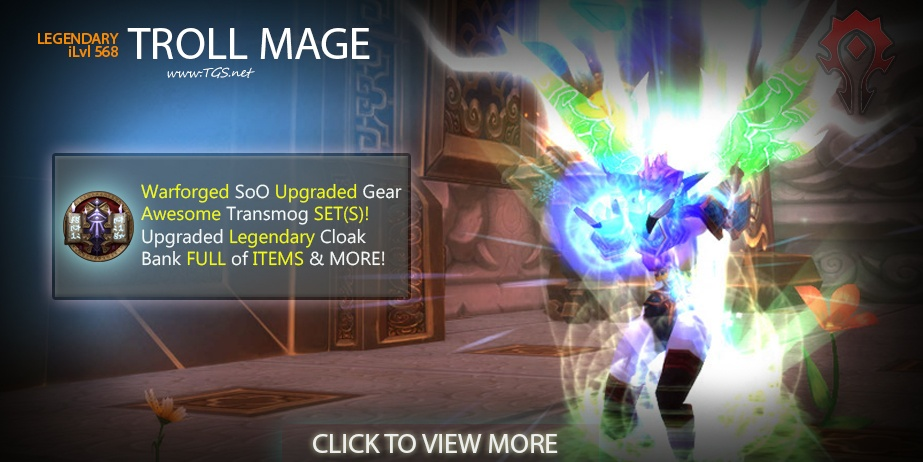 568 Legendary Mage | Awesome XMOG Gear | Full Bank & Bags + MORE