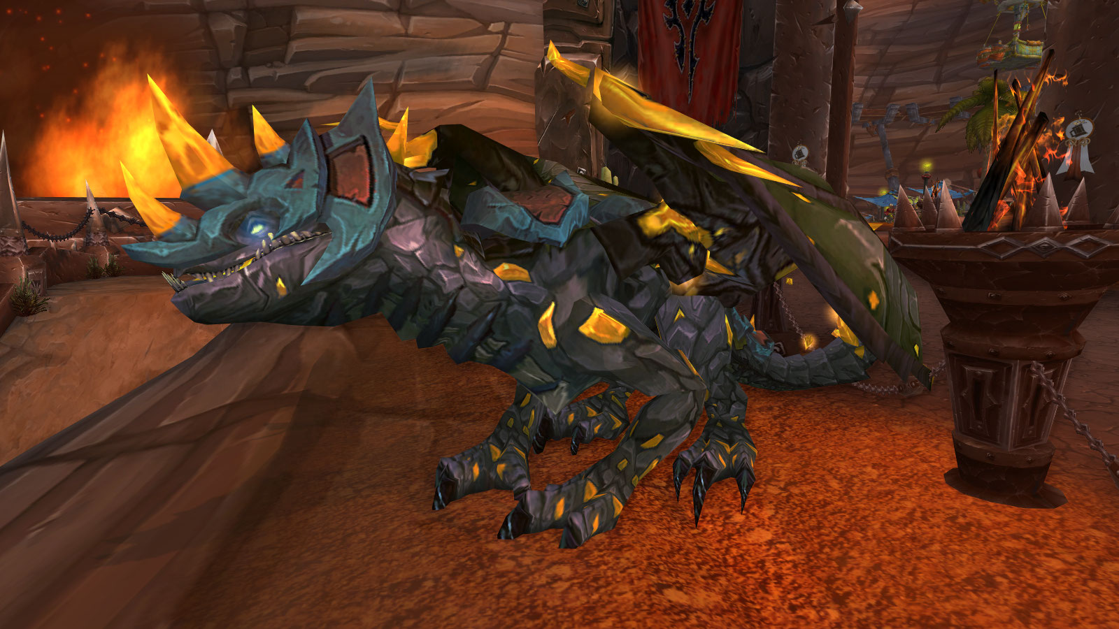 Buy for Sale 25,000 gold! | Basic 85 Rogue | Sandstone Drake | Flying Machine| Armored Brown ...