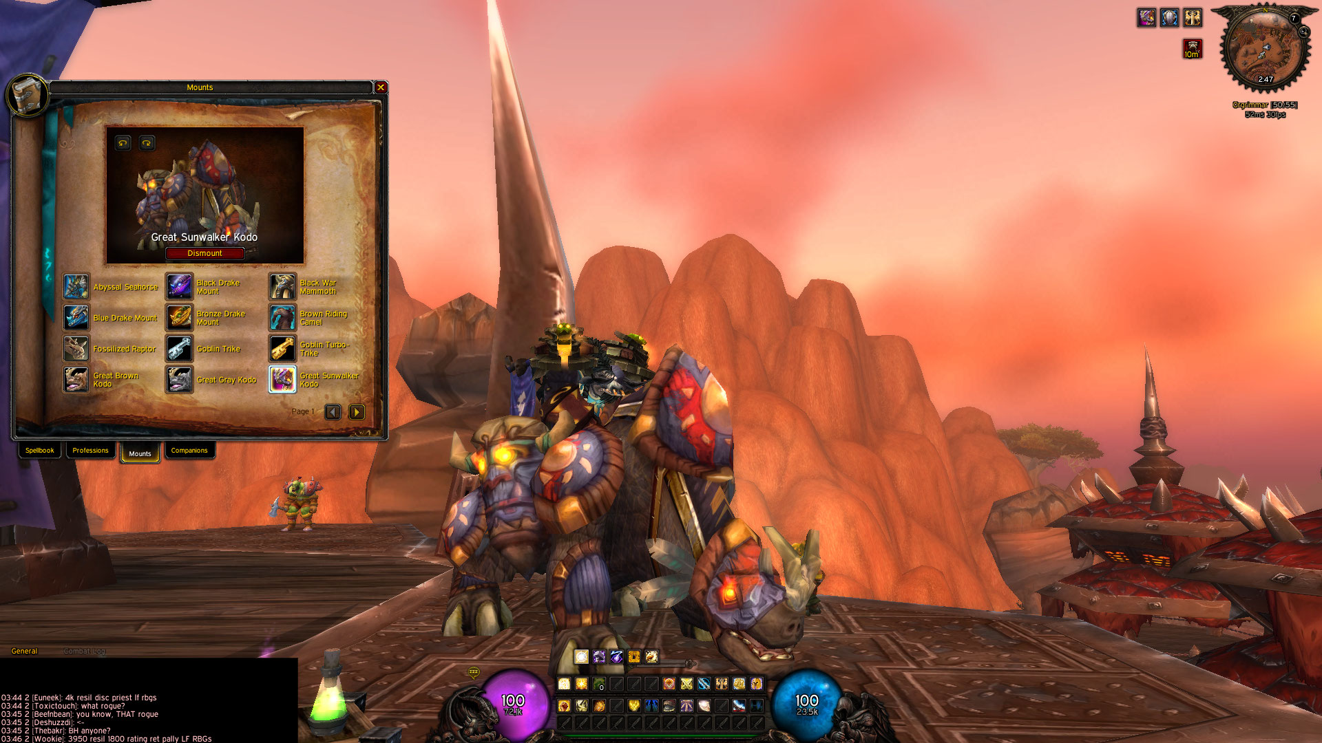 Buy for sale kingslayer tauren paladin 6100 chieves w for Tiger strike fish game cheats