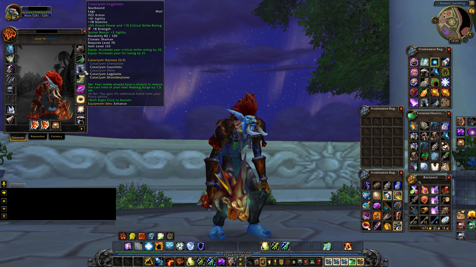 World of Warcraft Weapons