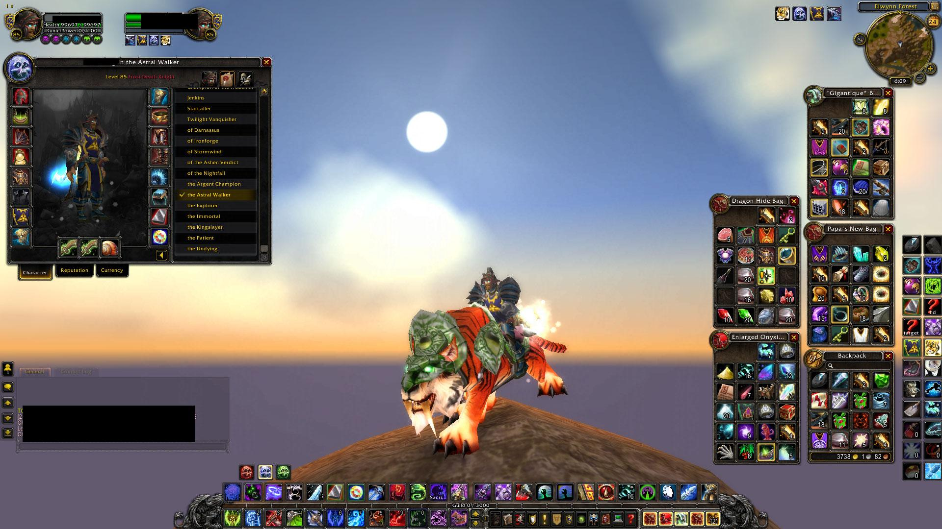 Buy for sale level 85 worgen death knight swift zulian for Tiger strike fish game cheats